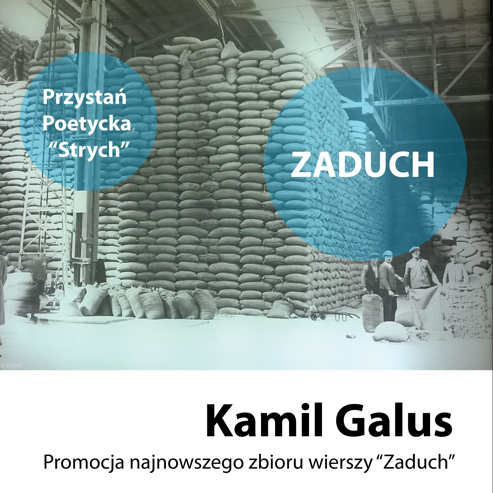 """Przystań Poetycka """"Strych"""" – Kamil Galus"""