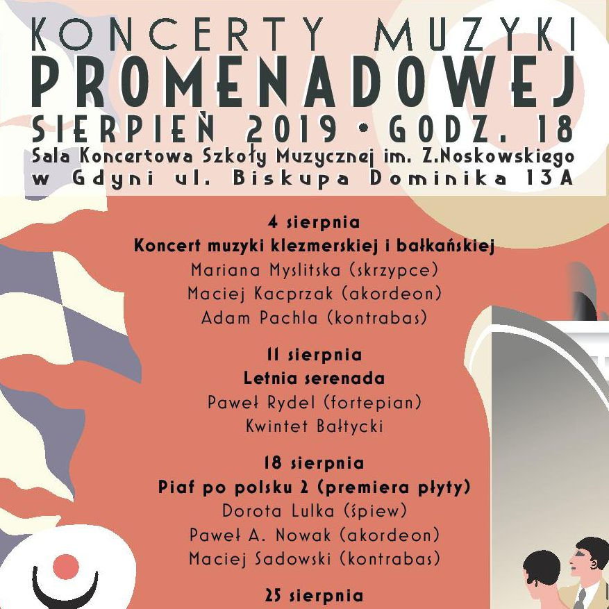 Muzyka Promenadowa – Koncert muzyki klezmerskiej i bałkańskiej