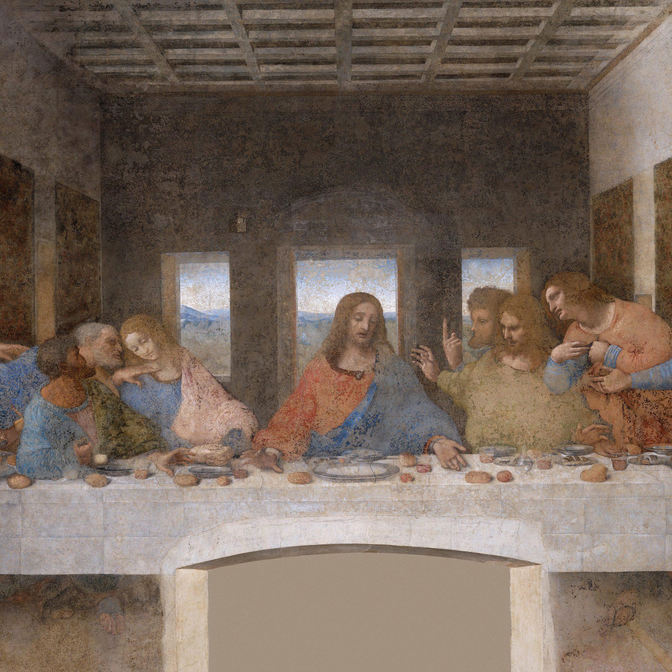 """Jeden Obraz """"Ostatnia wieczerza"""" Leonardo Da Vinci"""