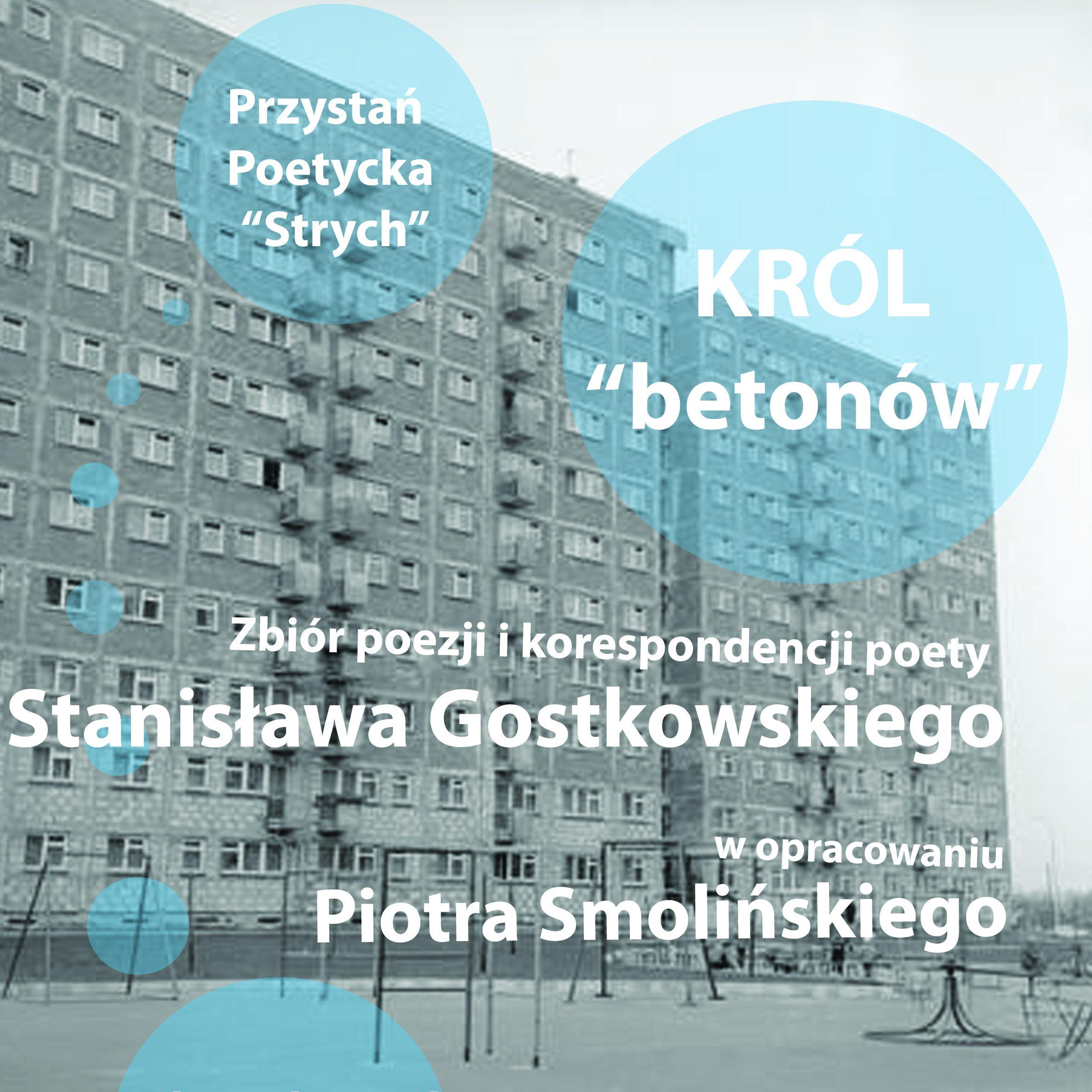 """Przystań Poetycka """"Strch"""" – Stanisław Gostkowski"""