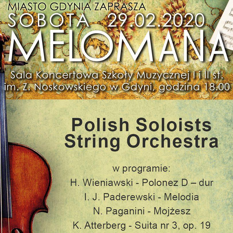 "Sobota Melomana ""Polish Soloist String Orchestra"""