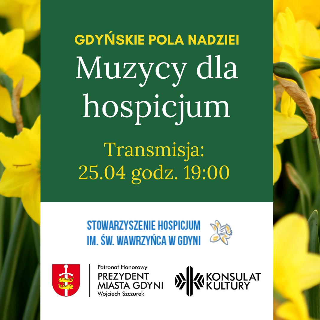 Muzycy dla hospicjum – Gdyńskie Pola Nadziei