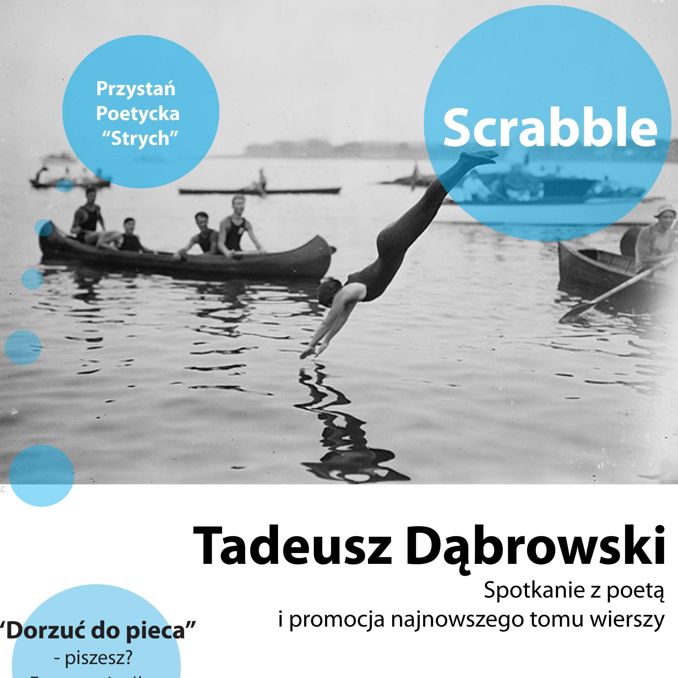"""Przystań Poetycka """"Strych"""" – Tadeusz Dąbrowski"""