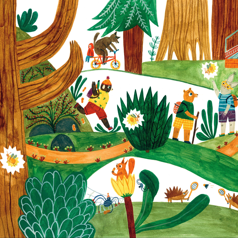 """Rysowanie i bazgrolenie z Marysią Dek – """"Odkrywamy magiczny świat drzew"""""""